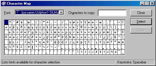 International Phonetic Alphabet Microsoft Word Mac