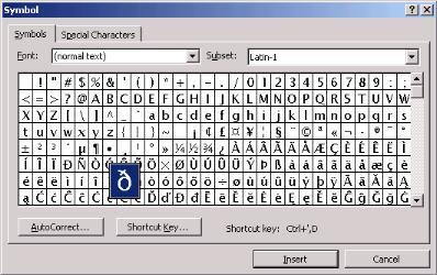 Unicode Phonetic transcription