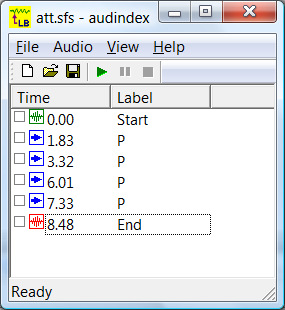 AudIndex - Real-time Audio Indexing Tool